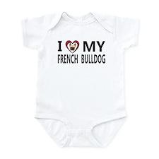 Unique French bulldogs fawn Infant Bodysuit