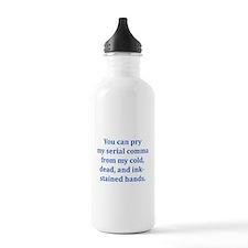 Serial Comma Water Bottle