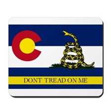 Dont Tread on Me Colorado Mousepad
