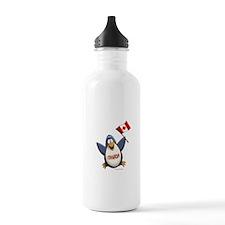 Canada Penguin Water Bottle