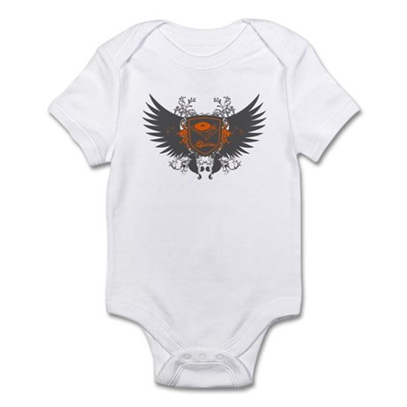 Turntable Shield Infant Bodysuit