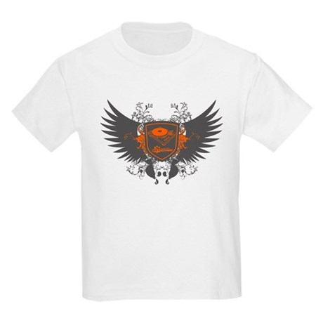 Turntable Shield Kids Light T-Shirt