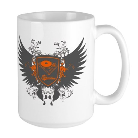 Turntable Shield Large Mug