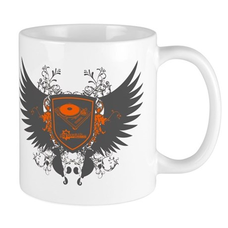 Turntable Shield Mug