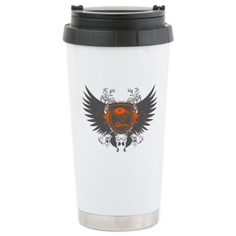 Turntable Shield Ceramic Travel Mug