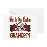 Rockin Grandson Greeting Card