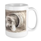 Funny Bearded collie Mug
