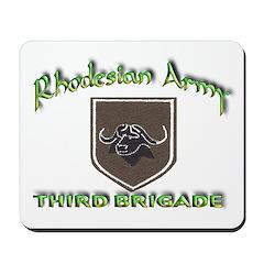 Rhodesian Army 3rd Brigade Mousepad