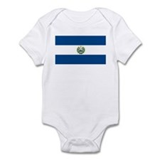 El Salvador Flag Infant Creeper