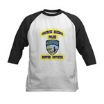 Surprise Police Motors Kids Baseball Jersey