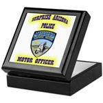 Surprise Police Motors Keepsake Box