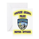 Surprise Police Motors Greeting Cards (Pk of 10)
