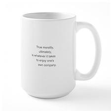 """True Morality"" Mug"