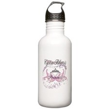 Cystic Fibrosis Warrior Princ Sports Water Bottle