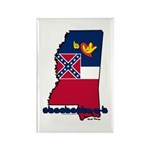 ILY Mississippi Rectangle Magnet (10 pack)