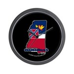 ILY Mississippi Wall Clock
