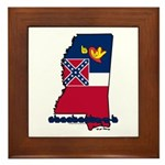ILY Mississippi Framed Tile