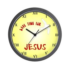 Make time for Jesus Wall Clock