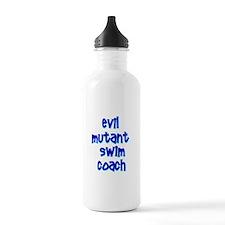 Evil Mutant Swim Coach Sports Water Bottle