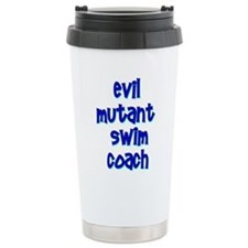 Evil Mutant Swim Coach Ceramic Travel Mug