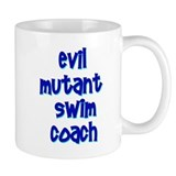 Evil Mutant Swim Coach Small Mug