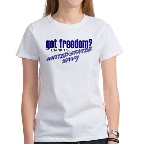 Got Freedom? Navy Women's T-Shirt