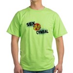 Sex Cymbal Green T-Shirt