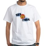 Sex Cymbal White T-Shirt
