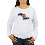 Sex Cymbal Women's Long Sleeve T-Shirt