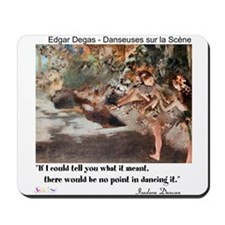 Meaning of Dance Mousepad