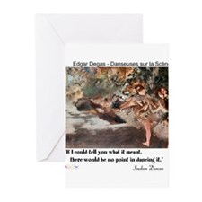 Meaning of Dance Greeting Cards (Pk of 10)