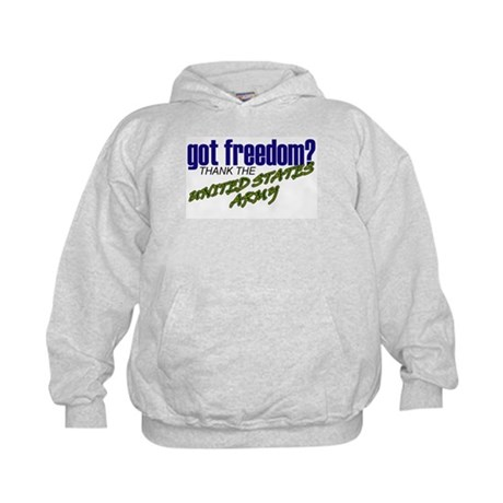 Got Freedom? US Army Kids Hoodie