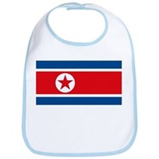 North Korea Flag Bib