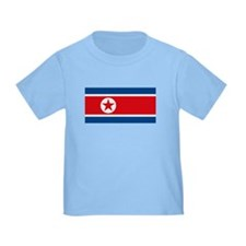 North Korea Flag T