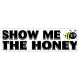 Funny Honey Car Sticker