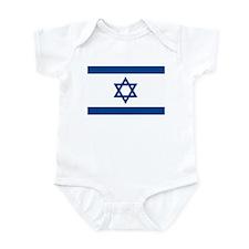 Israel Flag Infant Creeper