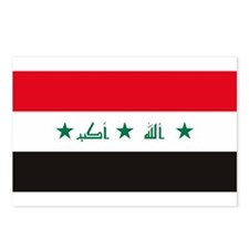Iraq Flag Postcards (Package of 8)