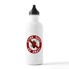 Stink Bugs Go Away Water Bottle
