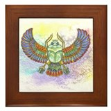 Scarab Framed Tile