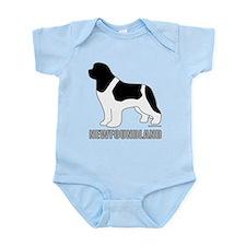 Landseer Silhouette Infant Bodysuit