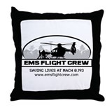 Cute Flight for life Throw Pillow