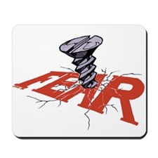 SCREW FEAR Mousepad