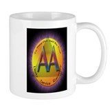 GOLD/PURPLE AA Coffee Mug