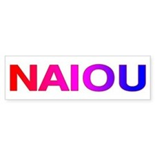 NAIOU Bumper Sticker