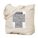 FULL SERENITY PRAYER Tote Bag