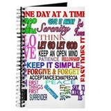 12 STEP SLOGANS IN COLOR Journal