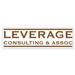 Leverage Consulting Bumper Stickers (10 pk)