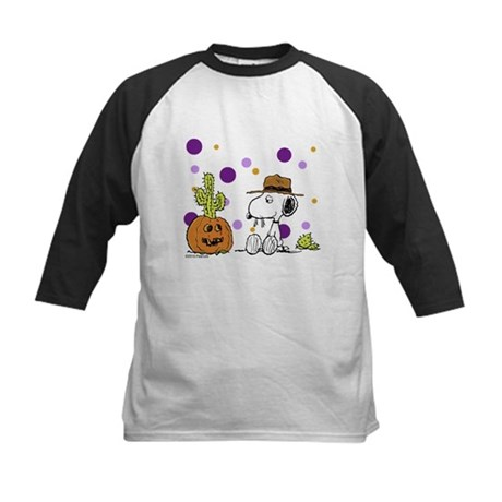 Spikey Halloween Kids Baseball Jersey