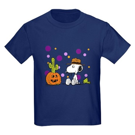 Spikey Halloween Kids Dark T-Shirt