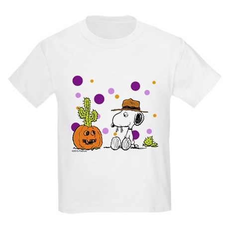 Spikey Halloween Kids Light T-Shirt